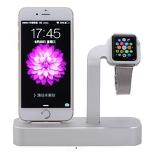 Док-станция для Apple IPhone Apple Watch silver