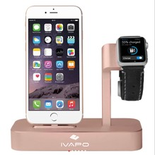 Док-станция для Apple IPhone Apple Watch rose gold
