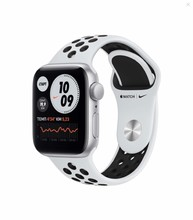 Смарт-часы Apple Watch Nike SE 44mm Silver Aluminum Case with Pure Platinum/Black Nike Sport Band (MYYH2RU/A)